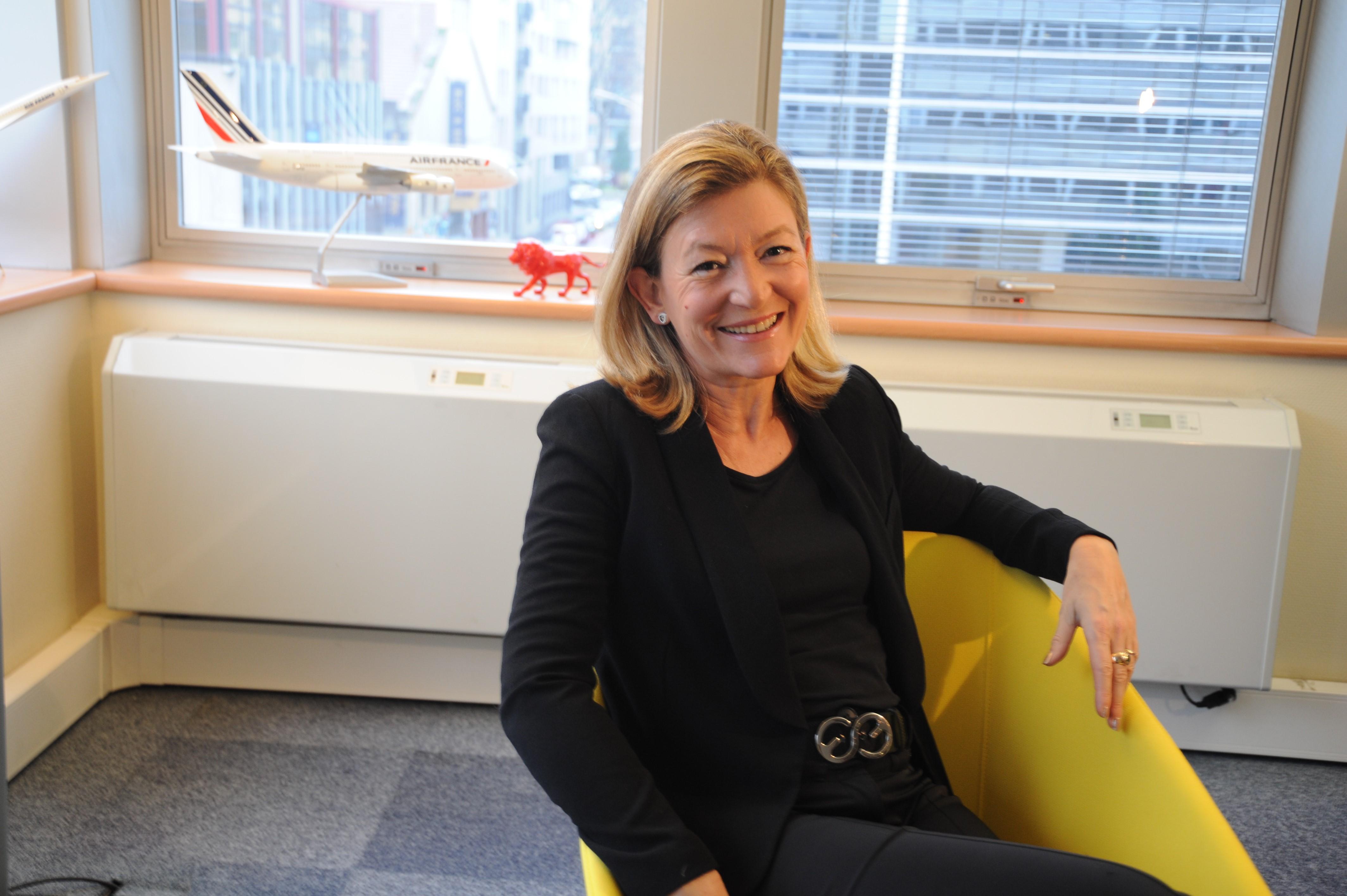 Sylvie Caudrillier - Directrice régionale Rhône-Alpes Auvergne Air France KLM