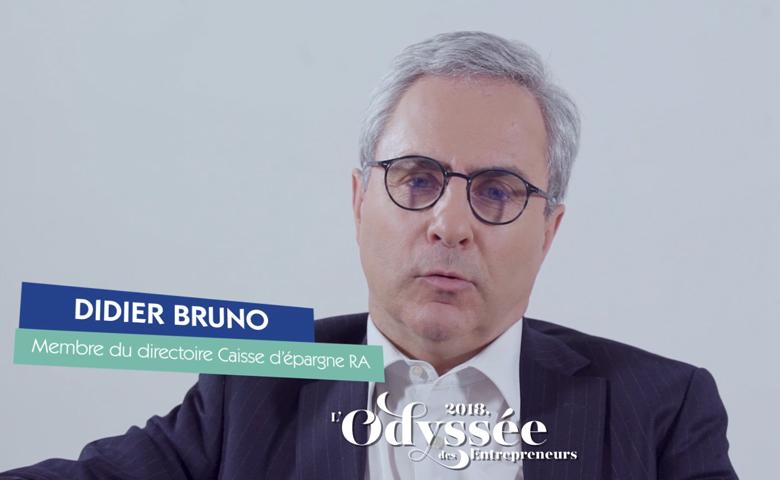 Printemps des entrepreneurs - Didier Bruno, membre du Directoire à la Caisse d'Epargne Rhône-Alpes
