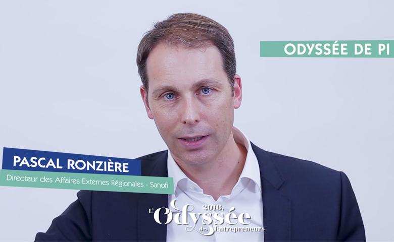 Printemps des entrepreneurs - Pascal Ronzière, Directeur des Affaires extérieures régionales de Sanofi