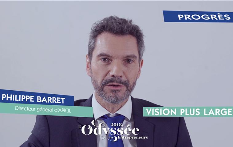 Printemps des entrepreneurs - Philippe Barret, Directeur général d'Apicil